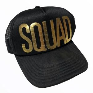 💸$5 Add On 💸 Squad Logo Baseball Cap